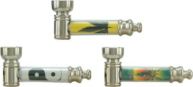 Πίπα ATOMIC Pipe Maria-Junior σε διάφορα σχέδια μεταλλική 0212701