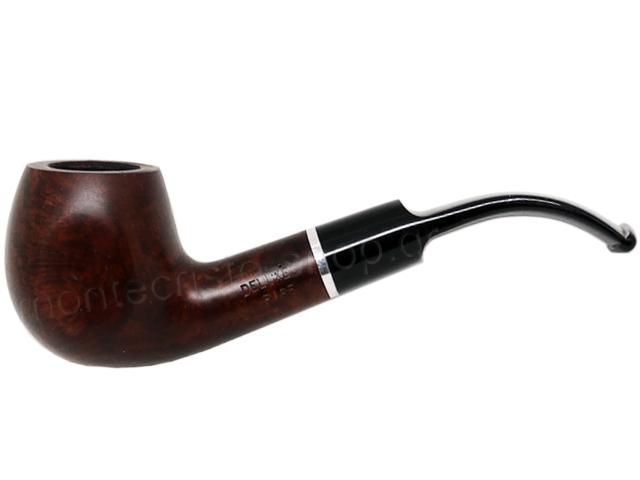 7356 - Πίπα DE LUXE MAT RING K15 BROWN 9mm πίπα καπνού κυρτή