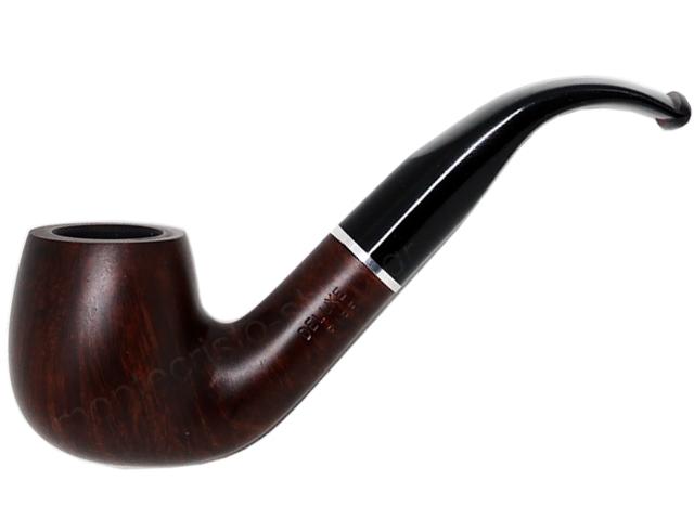 7353 - Πίπα DE LUXE MAT RING K16 BROWN 9mm πίπα καπνού κυρτή