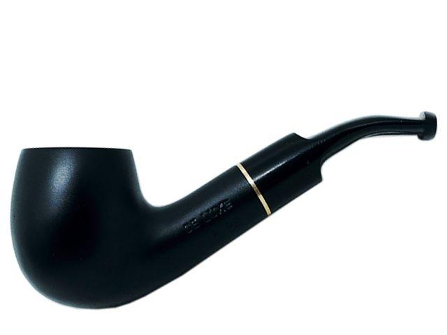 7011 - Πίπα DE LUXE MIGNON BLACK MAT 2 MINI 9mm πίπα καπνού κυρτή