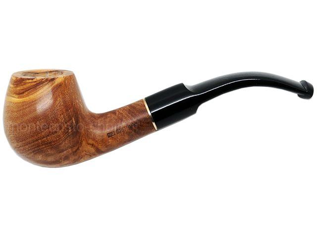 7087 - Πίπα DE LUXE OLIVO 15 MEDIUM 9mm πίπα καπνού κυρτή