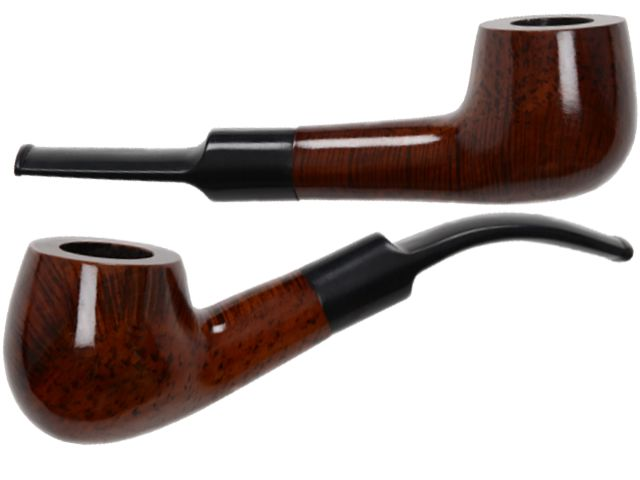 5834 - Πίπα καπνού Coney CO-Pipe 9mm BROWN POLISHED 5557006