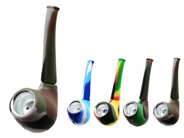 9717 - Πίπα καπνού Pipe Silicone 0212762