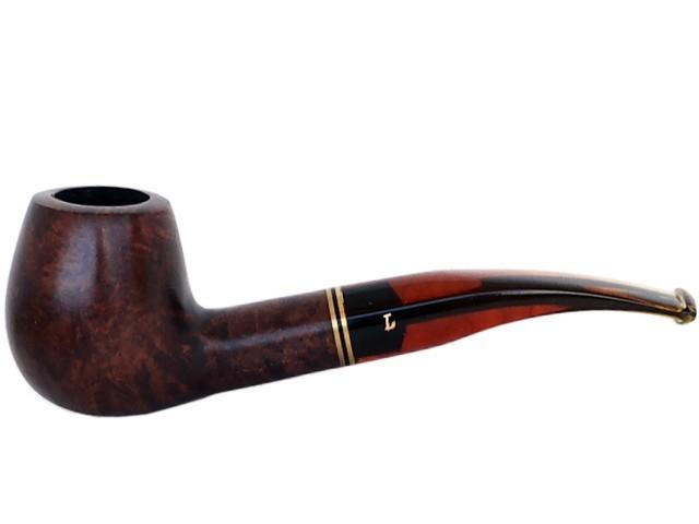 6086 - Πίπα Lepekoff New Castle 1384 (42201-120) πίπα καπνού ημίκυρτη