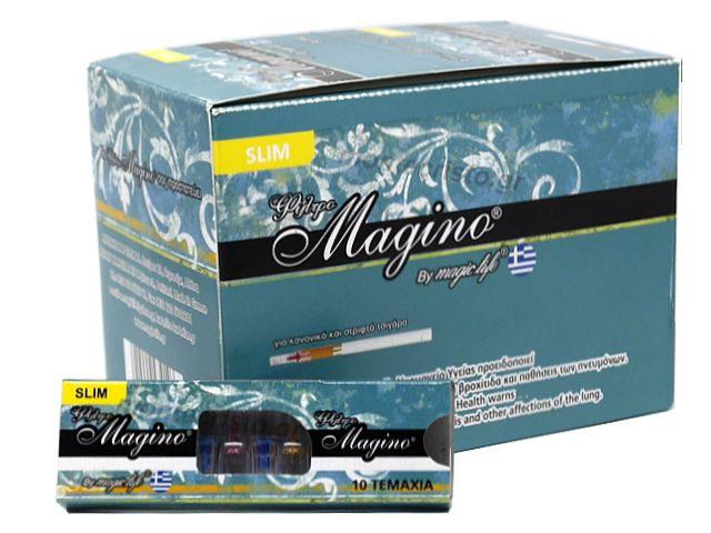 10718 - ΠΙΠΑΚΙΑ MAGIC LIFE MAGINO 10 SLIM 6mm ΠΙΠΑ ΤΣΙΓΑΡΟΥ (κουτί των 30)