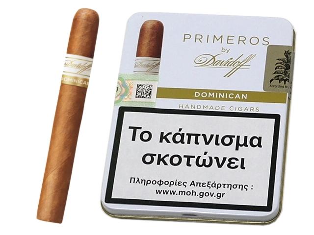 9215 - Πούρα Davidoff Primeros Dominician 6s