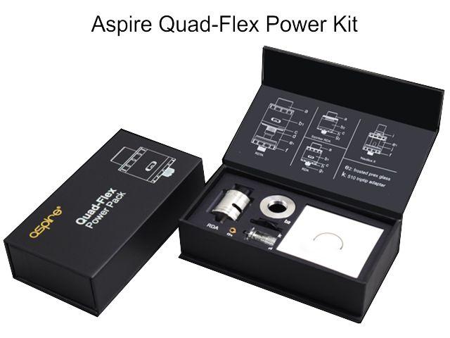 10361 - QUAD FLEX Power Kit by Aspire (για drip)