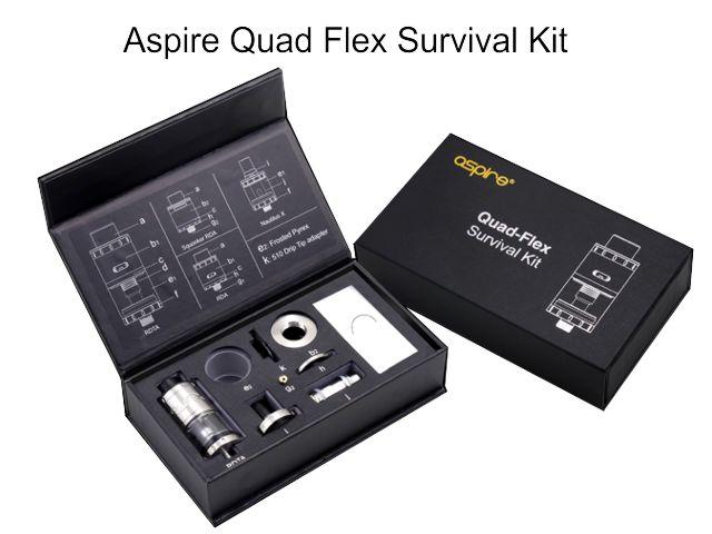 10362 - QUAD FLEX Survival Kit by Aspire