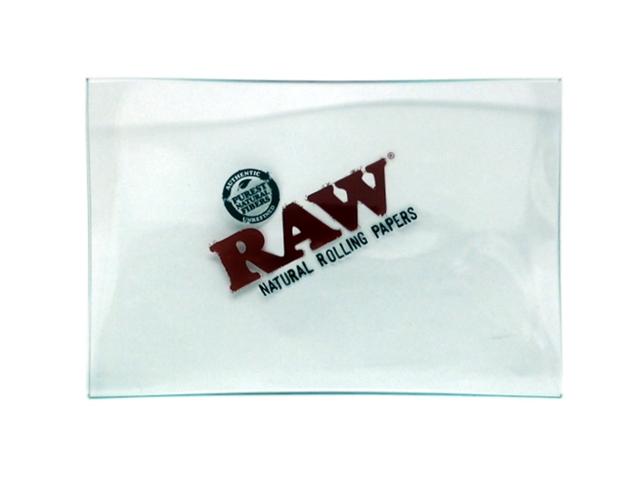 9024 - RAW GLASS TRAY DOUBLE THICK ROLLING TRAY MINI ΔΙΣΚΟΣ ΓΙΑ ΣΤΡΙΦΤΟ