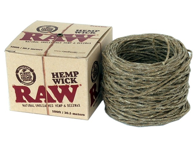 Raw Hemp Wick 100ft / 30.5 μέτρα