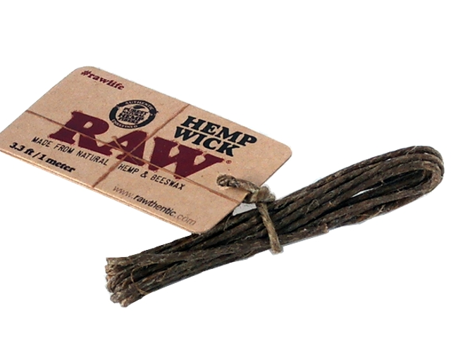 3177 - Raw Hemp Wick 1 μέτρο