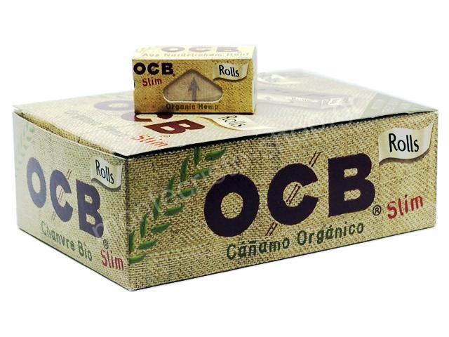 8541 - Ρολά OCB Organic Hemp Rolls Slim (κουτί των 24)