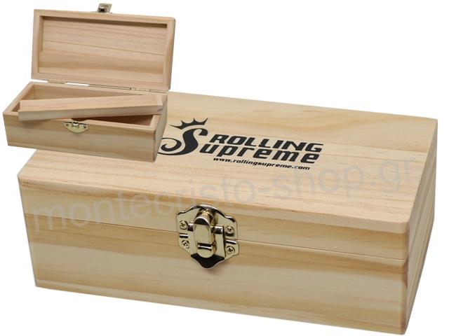 Rolling Box Rolling Supreme ξύλινο για στριφτό Small 13144