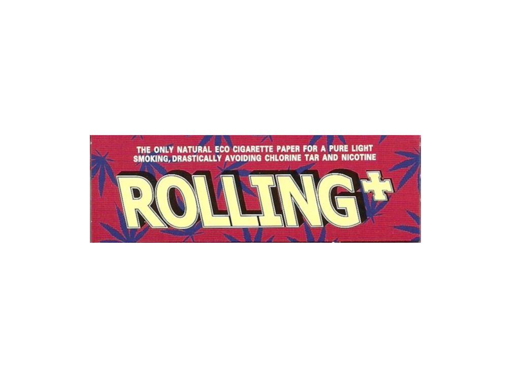 1595 - Rolling Hemp Χαρτάκι Στριφτού Τσιγάρου Κόκκινο 47500