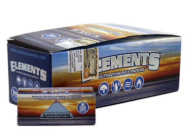 10928 - ΡΟΛΟ ELEMENTS KING SIZE WIDTH ULTRA THIN (54mm x 5 μέτρα) κουτί των 12