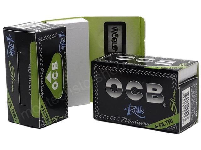 8542 - Ρολό με τζιβάνες OCB Slim Premium + Filter Tips Rolls