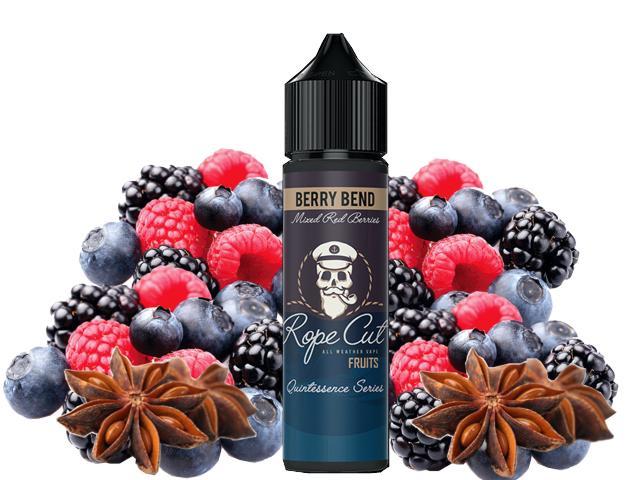 11270 - ROPE CUT Flavour Shot BERRY BEND 20/60ml (μούρα με γλυκάνισο)
