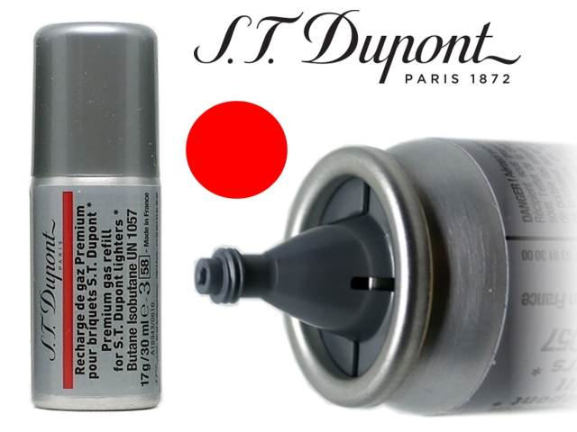 7926 - S T dupont Red Gas Refill aέριο αναπτήρων 30ml