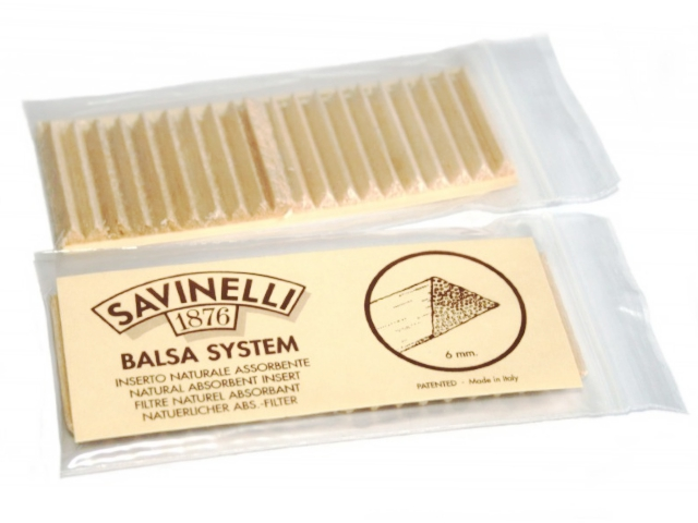 Savinelli 6mm Balsa 733 Pipe Filters ΦΙΛΤΡΑ ΠΙΠΑΣ ΚΑΠΝΟΥ