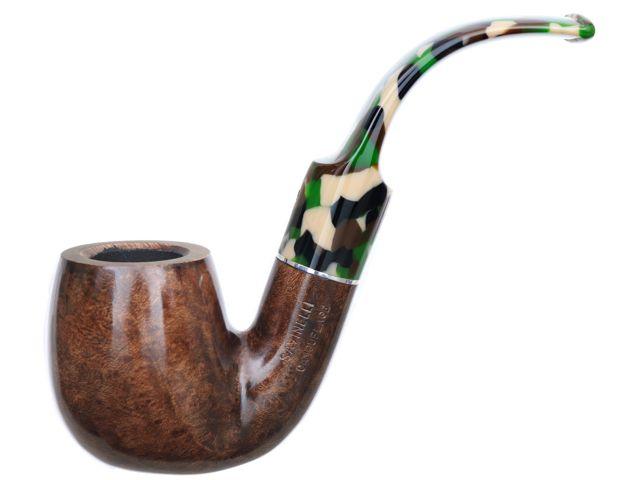 11503 - SAVINELLI CAMOUFLAGE 614 SMOOTH DARK BROWN 9mm πίπα καπνού