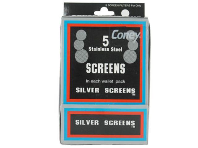 Σίτες Bong Coney Silver Screens για μπονγκ και πίπες (5 τεμάχια) 2cm