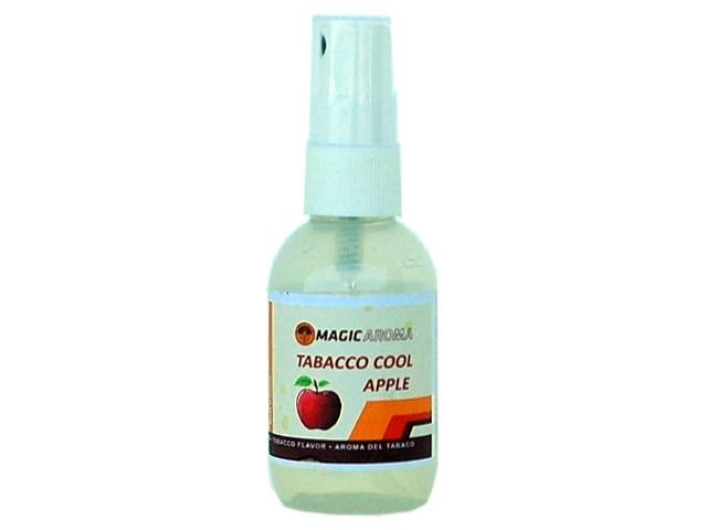 6142 - Σταγόνες Magic Aroma TOBACCO COOL APPLE (μήλο και καπνός) 50ml για ψεκασμό καπνού
