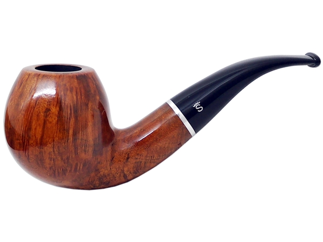 6955 - Stanwell Pipe Amber Light 186 9mm πίπα καπνού κυρτή