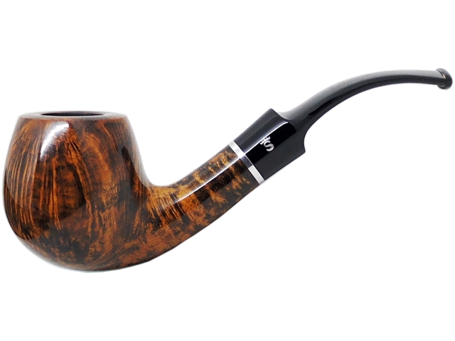 Stanwell Pipe Amber Light 84 Polished 9mm πίπα καπνού κυρτή