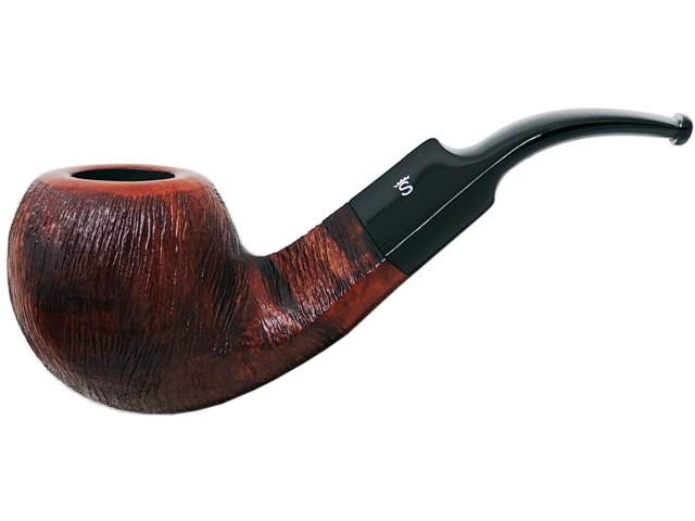 6959 - Stanwell Pipe Brushed Brown 15 9mm πίπα καπνού κυρτή