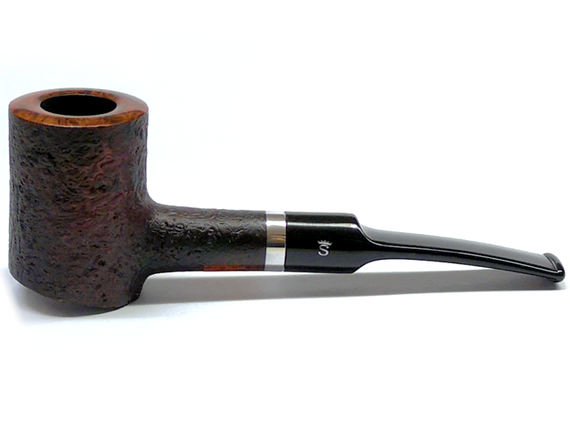 8474 - Stanwell Pipe Relief 207 Black Sand 9mm πίπα καπνού ημίκυρτη