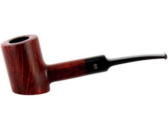 10556 - Stanwell Silkebrun 207 Brown πίπα καπνού ημίκυρτη 9mm