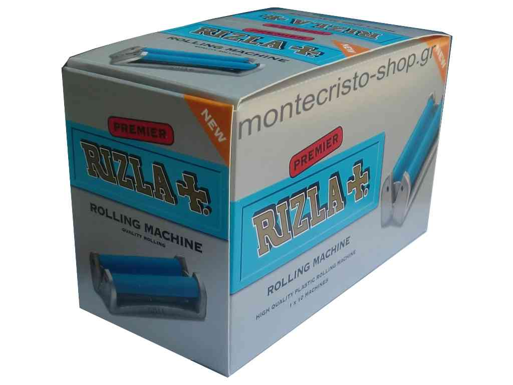 Συσκευασία με 10 ΜΗΧΑΝΕΣ ΣΤΡΙΦΤΟΥ ΠΛΑΣΤΙΚΕΣ RIZLA PREMIER με τιμή 1.60 η μία