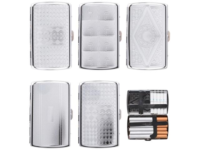 7168 - Ταμπακιέρα ATOMIC Cigarette Case Multi Chrome 0410649 (κανονικά τσιγάρα)