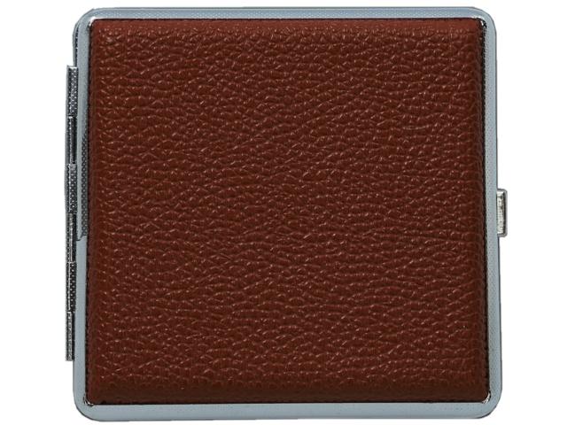 11376 - Ταμπακιέρα για 20 τσιγάρα MADO 665-9007 μεταλλική καφέ ακρυλική