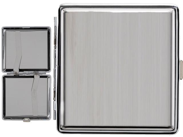 7170 - Ταμπακιέρα για κανονικά τσιγάρα ATOMIC Case KS Steel 0410639