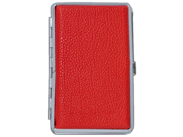 11380 - Ταμπακιέρα για SLIM τσιγάρα MADO 665-9804 μεταλλική κόκκινη ακρυλική