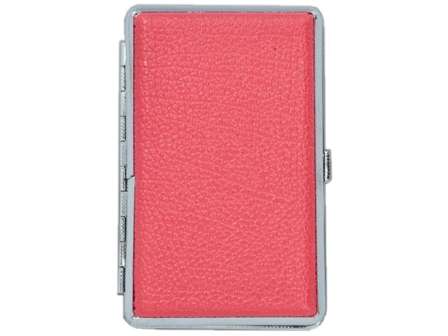 11381 - Ταμπακιέρα για SLIM τσιγάρα MADO 665-9805 μεταλλική ροζ ακρυλική