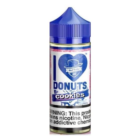 10088 - I LOVE DONUTS COOKIES DONUT 50/60ml SHAKE VAPE (μπισκότο)