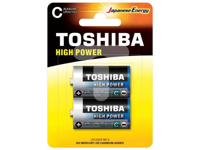 11678 - TOSHIBA C HIGH POWER ΑΛΚΑΛΙΚΕΣ (2 ΜΠΑΤΑΡΙΕΣ)