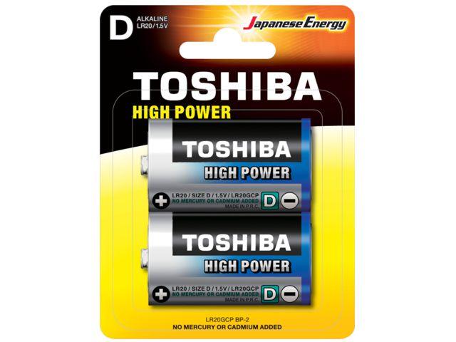 11677 - TOSHIBA D HIGH POWER ΑΛΚΑΛΙΚΕΣ (2 ΜΠΑΤΑΡΙΕΣ)