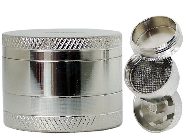 Τρίφτης καπνού ATOMIC METAL 3-Parts 30mm Grinder 0212316