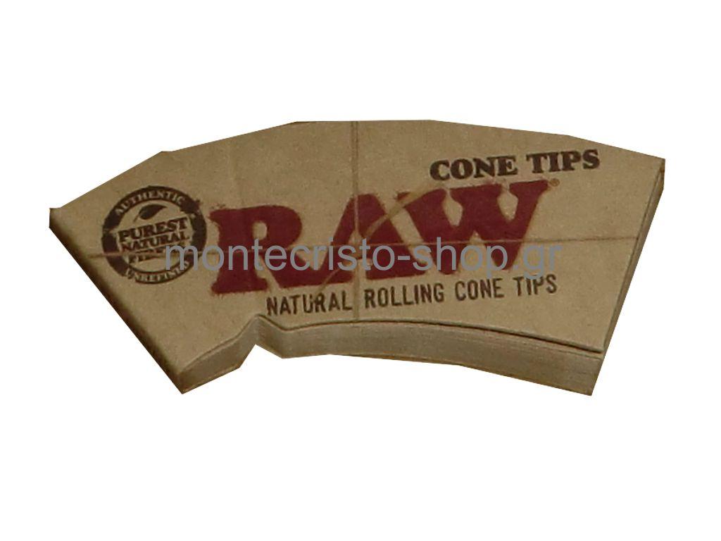 Τζιβάνα RAW PERFECTO Cone Tips (Κωνική), 32 φύλλα
