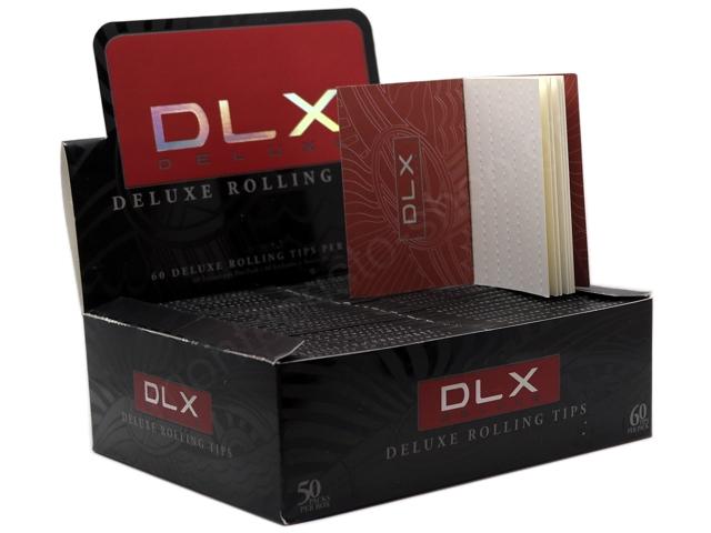8588 - Τζιβάνες DLX DELUXE ROLLING TIPS 60 (κουτί 50 τεμαχίων)