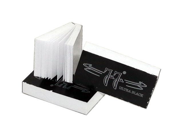 3702 - Τζιβάνες JaJa Filtertips booklet thick Ultra Black (χοντρό χαρτί)