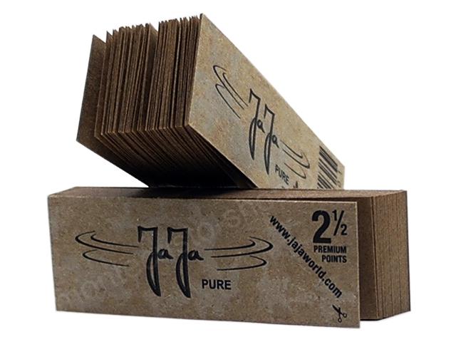8552 - Τζιβάνες JAJA PURE UNBLEACHED 50 tips ακατέργαστες 2 & 1/2