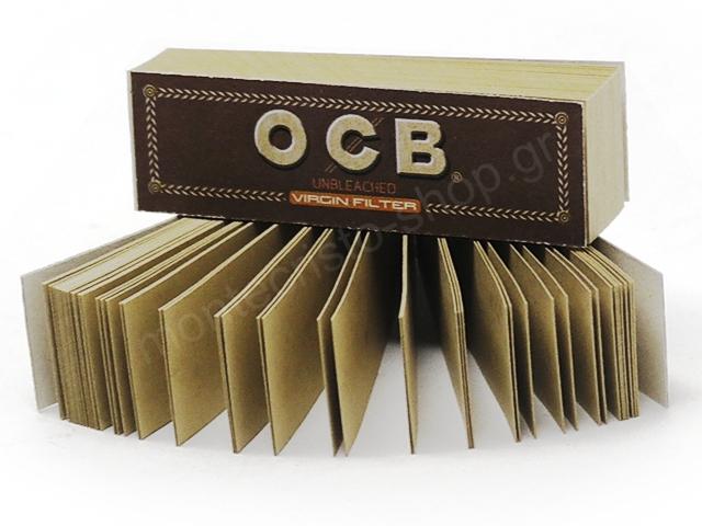 8521 - Τζιβάνες OCB VIRGIN FILTER UNBLEACHED 50