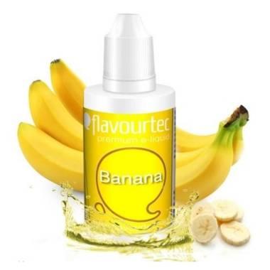 9505 - Υγρό αναπλήρωσης Flavourtec BANANA 10ml (μπανάνα)