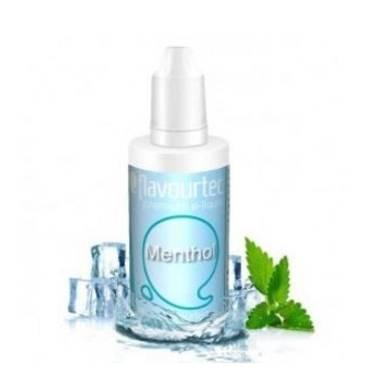 9512 - Υγρό αναπλήρωσης Flavourtec MENTHOL 10ml (μέντα)