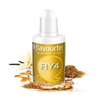 9516 - Υγρό αναπλήρωσης Flavourtec RY4 10ml (καπνικό,με καραμέλα και βανίλια)