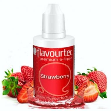 9521 - Υγρό αναπλήρωσης Flavourtec STRAWBERRY 10ml (φράουλα)
